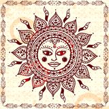 Beautiful Indian floral ornament Royalty Free Stock Photo