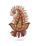 Beautiful Indian floral ornament for your business Royalty Free Stock Photos