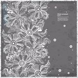 Beautiful Indian floral paisley seamless ornament print. Ethnic Stock Image