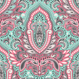 Beautiful Indian floral seamless pattern Stock Image