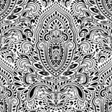 Beautiful Indian floral seamless pattern Royalty Free Stock Image