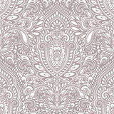 Beautiful Indian floral seamless pattern Royalty Free Stock Photos