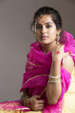 Beautiful Indian girl portrait Stock Images