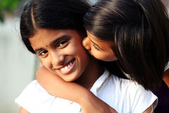 Beautiful Indian girls Royalty Free Stock Photography
