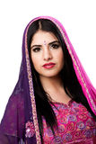Beautiful Indian Hindu woman Royalty Free Stock Photo