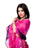 Beautiful Indian Hindu woman stock image