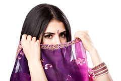 Beautiful Indian Hindu woman Stock Images