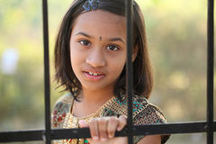 Beautiful Indian little girl Royalty Free Stock Image