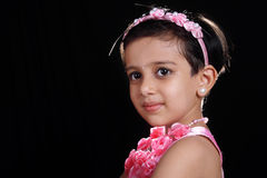 Beautiful Indian Little Girl Royalty Free Stock Photography