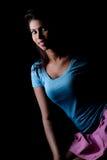 Beautiful indian model art closeup Stock Photos