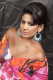 Beautiful indian model closeup Royalty Free Stock Photos