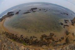 Beautiful indian oсean. Vieц taken in Sri-Lanka stock photography