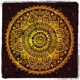 Beautiful Indian ornament Stock Photos