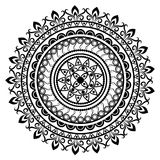 Beautiful Indian ornament, mandala pattern. Stock Photos