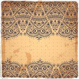 Beautiful Indian paisley ornament Royalty Free Stock Photo