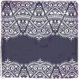 Beautiful Indian paisley ornament Royalty Free Stock Images