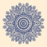 Beautiful Indian paisley ornament Stock Photo
