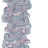 Beautiful Indian paisley ornament Stock Photography