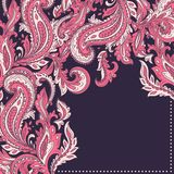 Beautiful Indian paisley ornament Stock Image