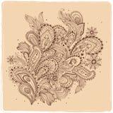 Beautiful Indian paisley ornament Royalty Free Stock Image