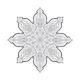 Beautiful indian pattern Royalty Free Stock Images