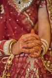 Beautiful Indian, Punjabi Bride Royalty Free Stock Images