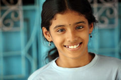 Beautiful Indian teen girl Stock Image