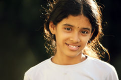 Beautiful Indian teen girl Royalty Free Stock Images