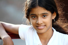 Beautiful Indian teen girl Royalty Free Stock Photo