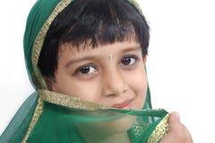 Beautiful Indian Traditional Girl Stock Photo