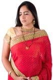 Beautiful Indian Woman Stock Photography