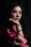 A beautiful Indian woman Royalty Free Stock Photos