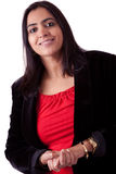 Beautiful Indian Woman in business attire Royalty Free Stock Photography