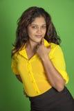 Beautiful indian women posse Royalty Free Stock Photo