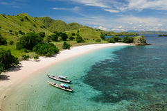 Beautiful Indonesian beaches Royalty Free Stock Photos