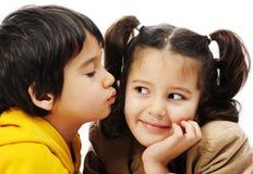 Beautiful innocent childhood Stock Photos