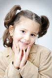 Beautiful inocent childhood Royalty Free Stock Photography