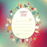 Beautiful Instagram Easter Card Stock Photos