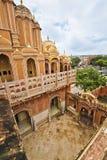 Inside Of Jaipur Wind Palace. Beautiful interior architecture of the famous Jaipur Wind Palace or Hawa Mahal royalty free stock image