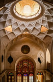 Beautiful interior of Iranian palace Royalty Free Stock Photography