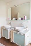 Beautiful interior of a modern bathroom Stock Photography