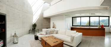 Beautiful interior modern home Royalty Free Stock Photography