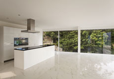 Beautiful interior of a modern house Royalty Free Stock Photography