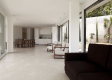 Beautiful interior of a modern house Royalty Free Stock Photos