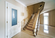 Beautiful interior of a modern house . Royalty Free Stock Photos