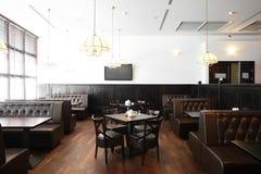 Beautiful interior of modern restaurant Royalty Free Stock Image