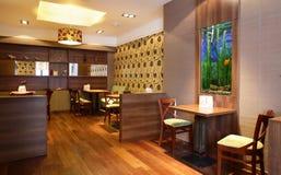 Beautiful interior of modern restaurant Stock Photography