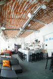 Beautiful interior of modern restaurant Stock Images