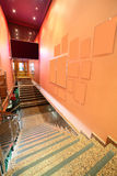 Beautiful interior of modern restaurant Stock Photos