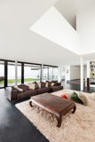 beautiful interior of a modern villa Royalty Free Stock Photos